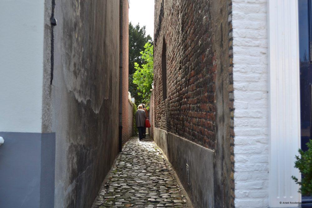 De Schuddebeursstraat in Middelburg