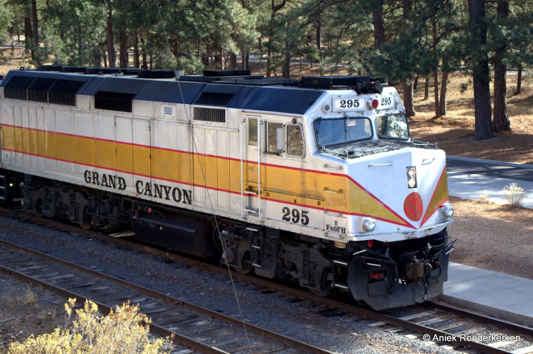 Williams, Arizona. Grand Canyon Railroad