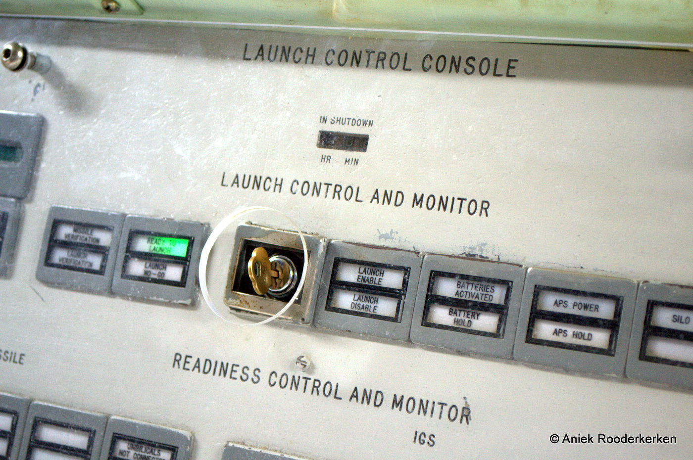 Launch Control Center, Titan Two Missile Museum