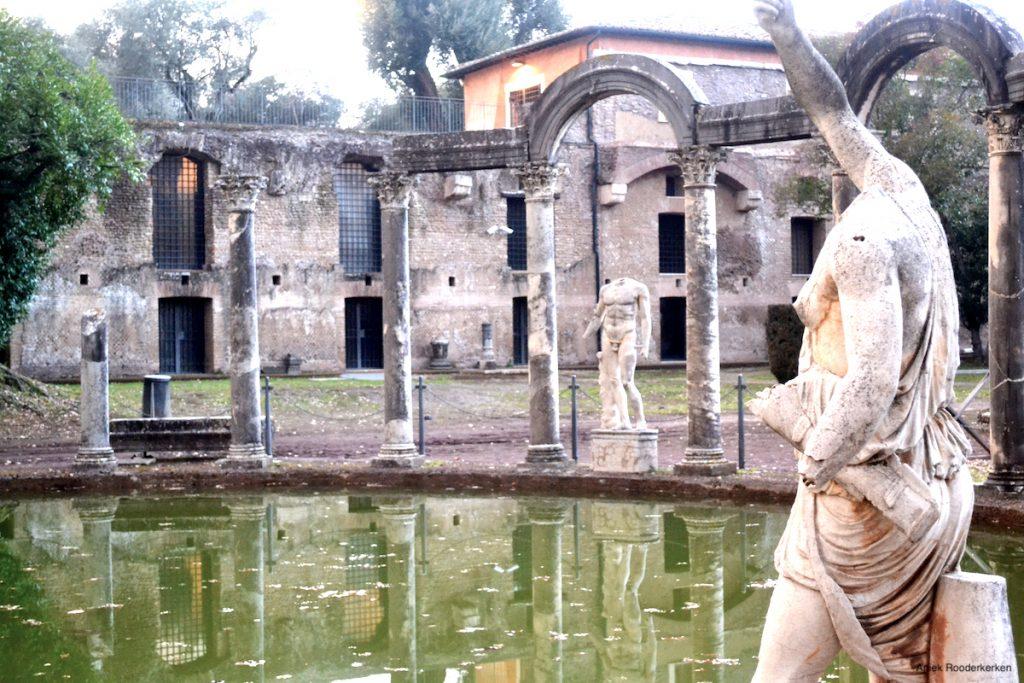 Villa van Hadrianus in Tivoli