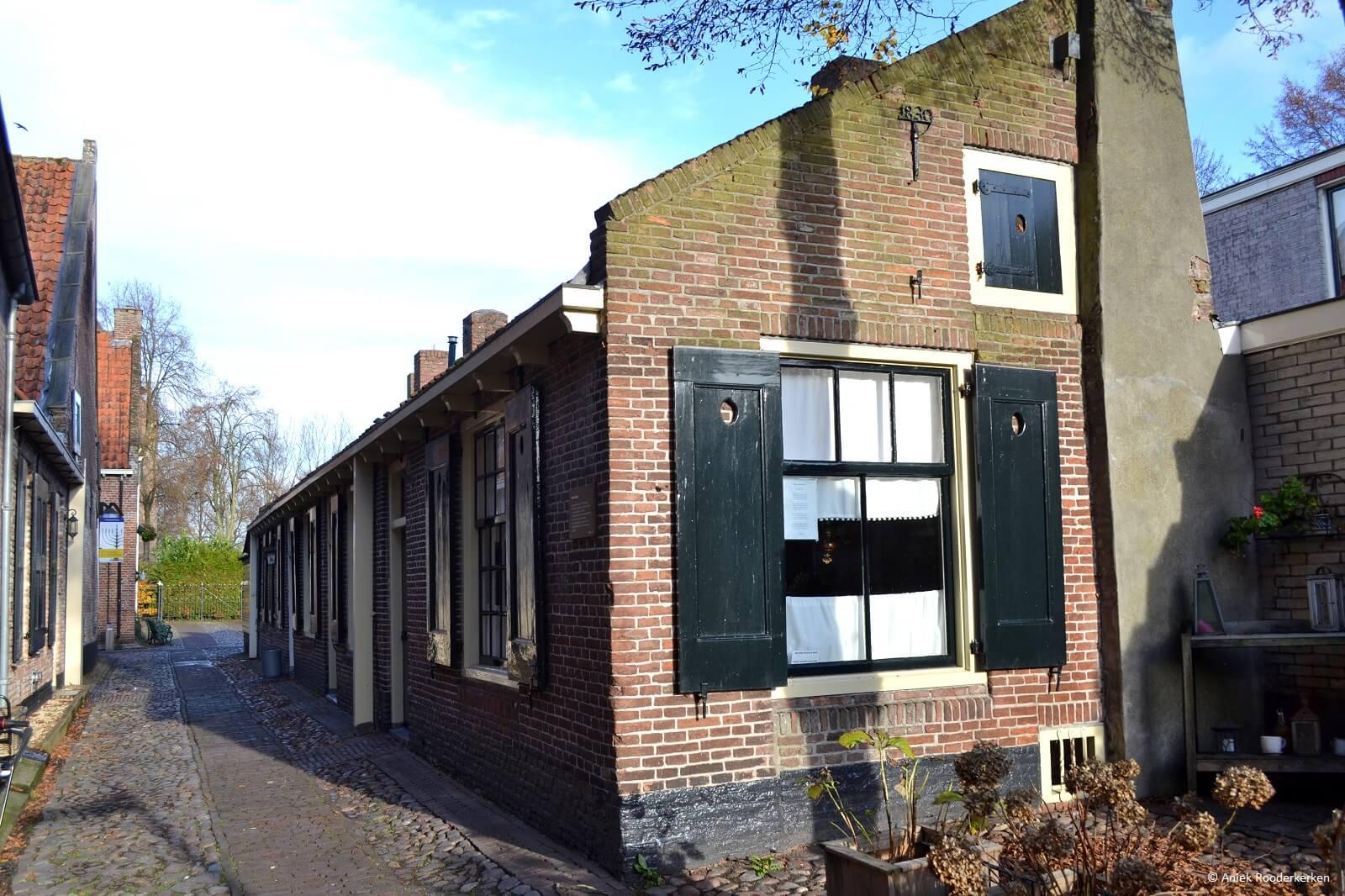 De muurhuisjes van Elburg