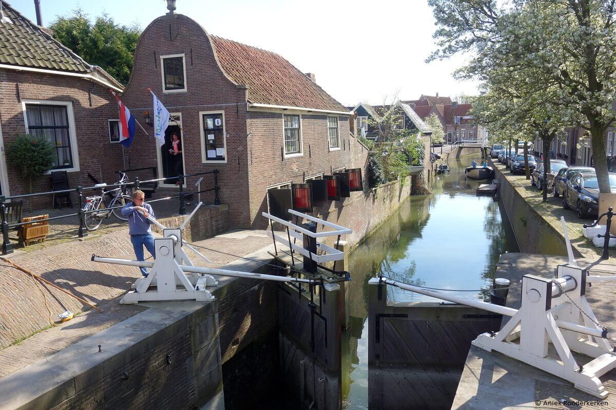 Sluisje bij Monnickendam