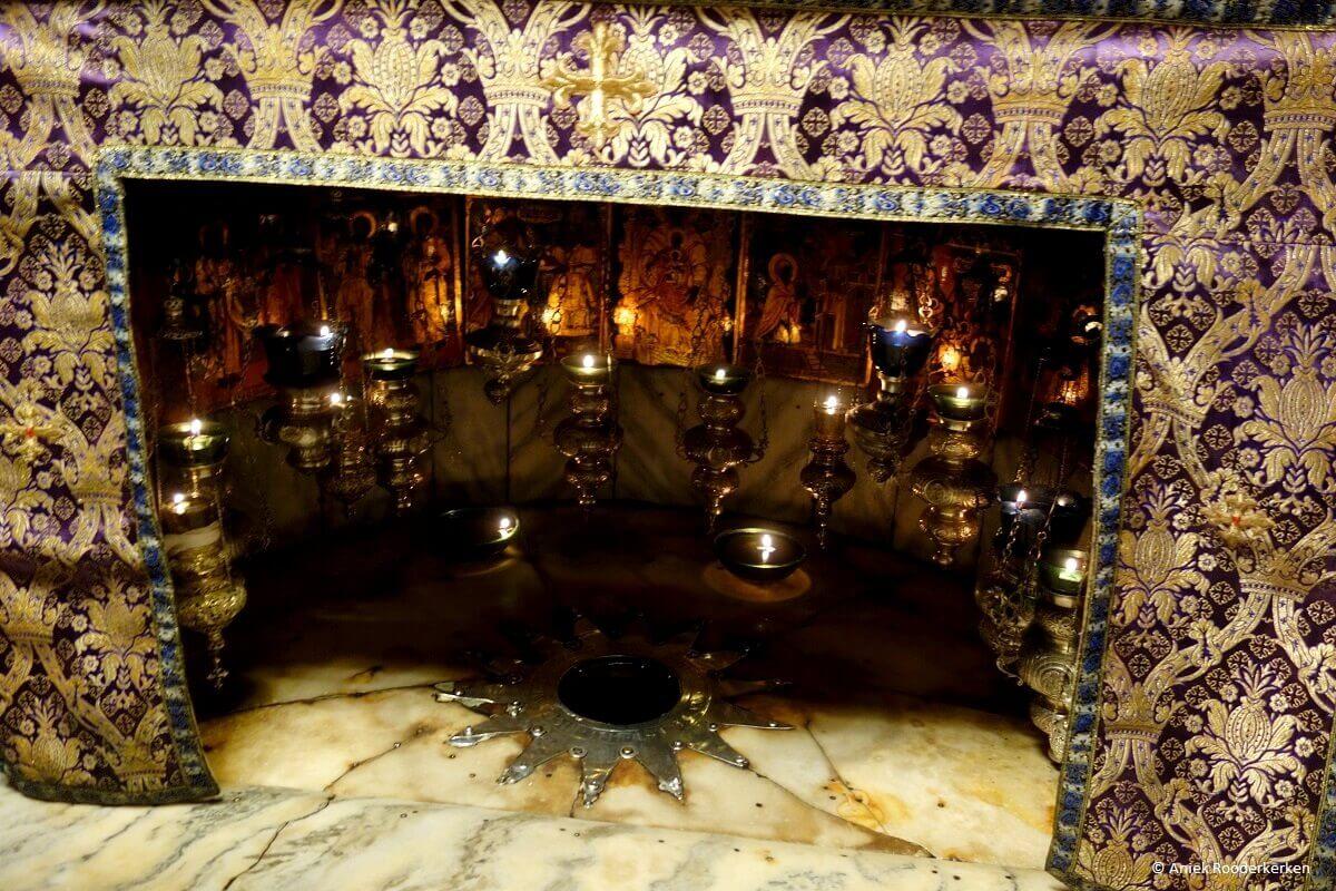 UNESCO werelderfgoed in Palestina: de Geboortekerk in Bethlehem