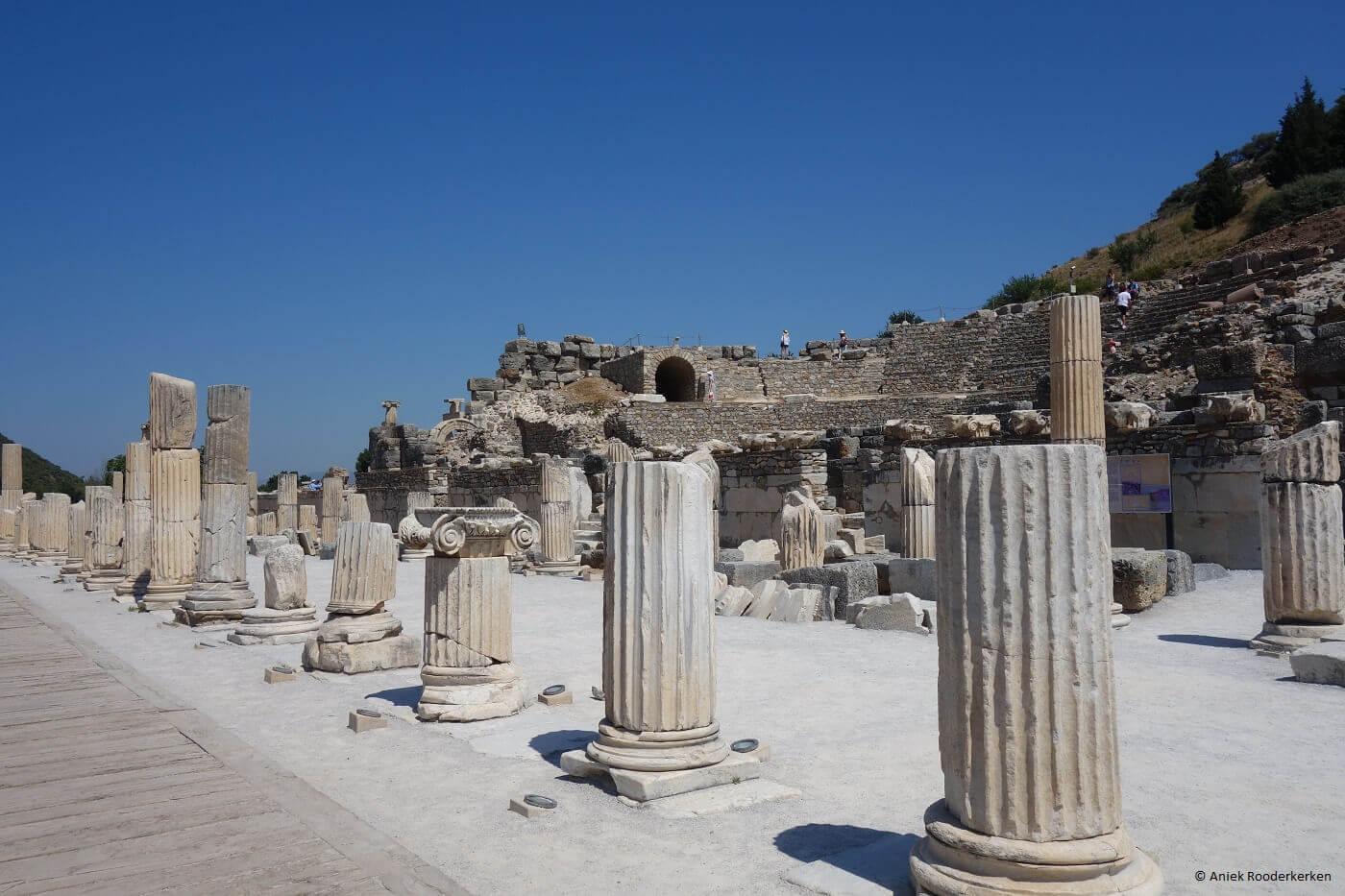 Prytaneum in Efeze, UNESCO Werelderfgoed in Turkije