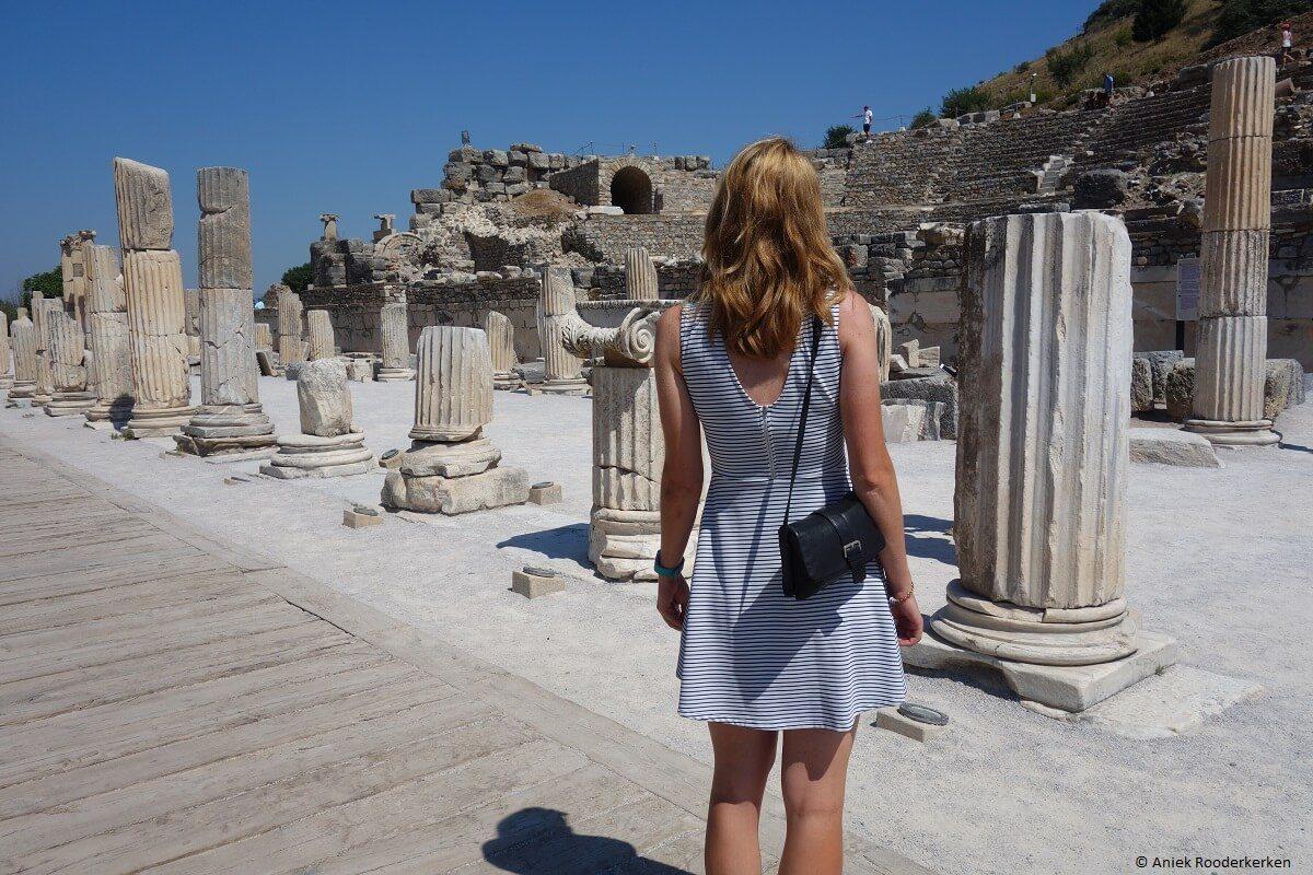 Historical sites near Kuşadasi: Archaeological excavations of Ephesus