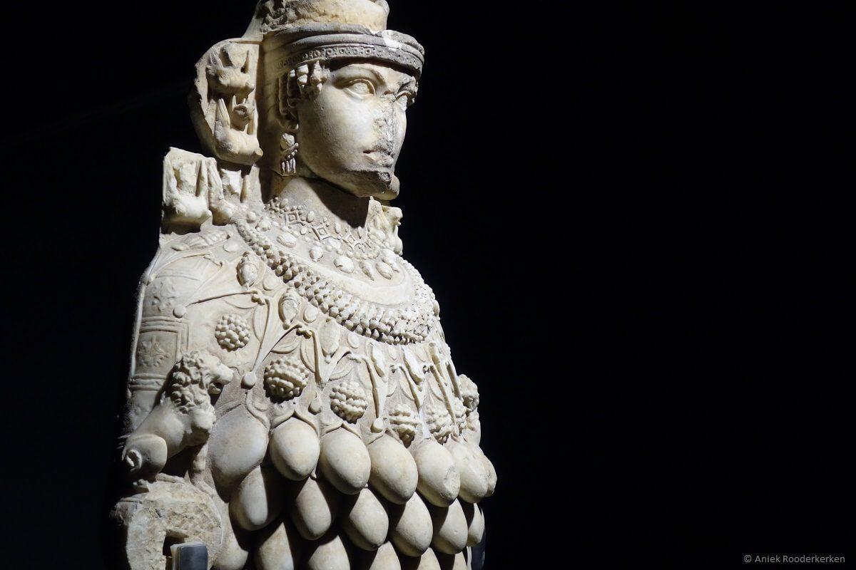Statue of Artemis in the Ephesus Museum