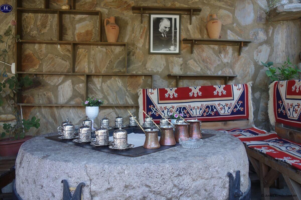 Turkish coffee in Şirince