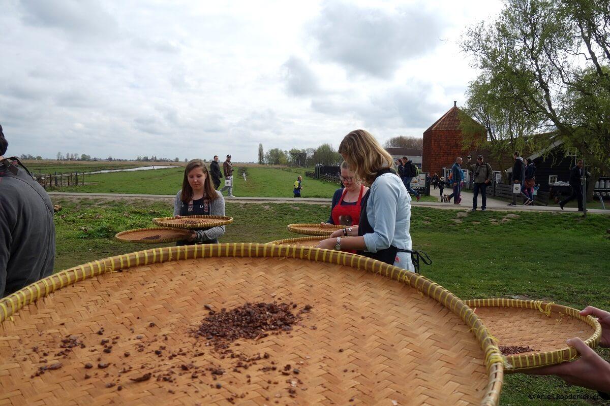Chocolade workshop op de Zaanse Schans