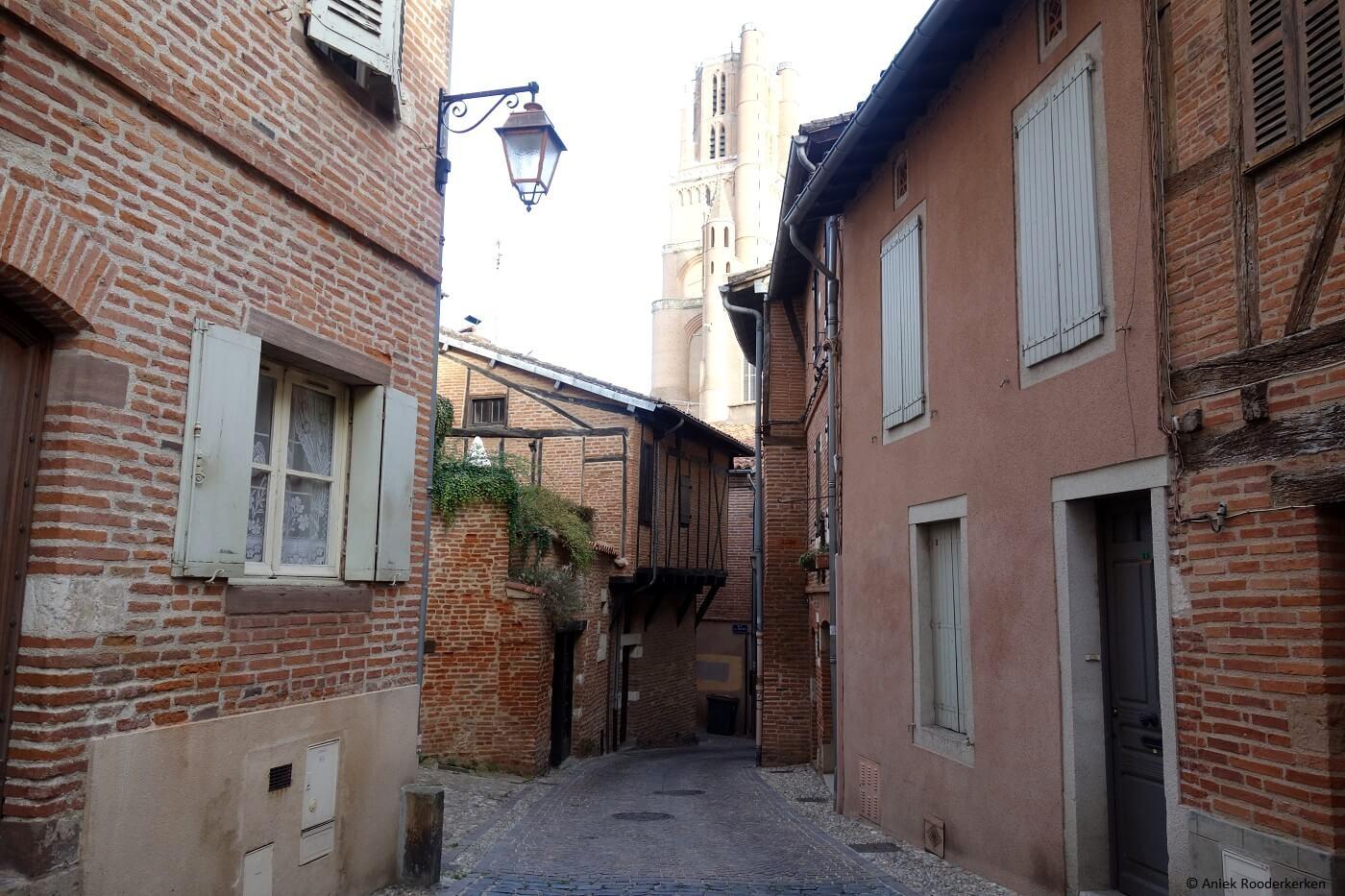 Middeleeuws stadscentrum van Albi