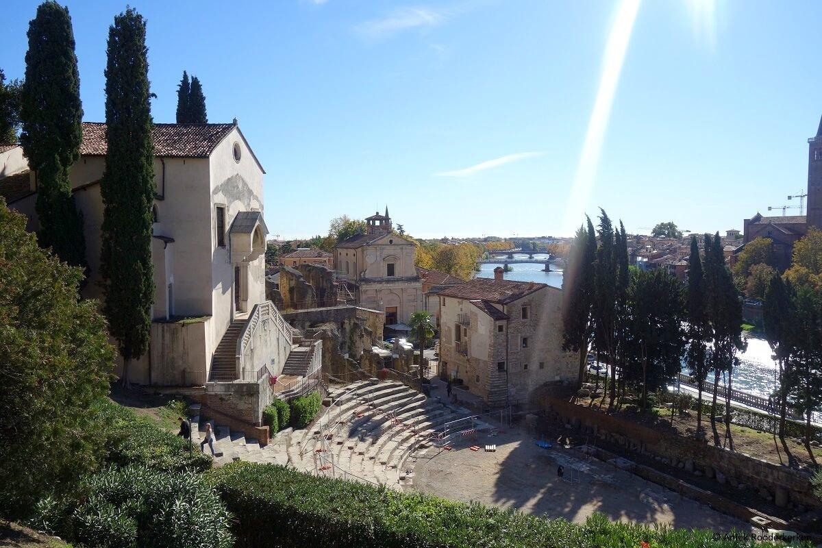 Teatro Romano en Museo Archeologico