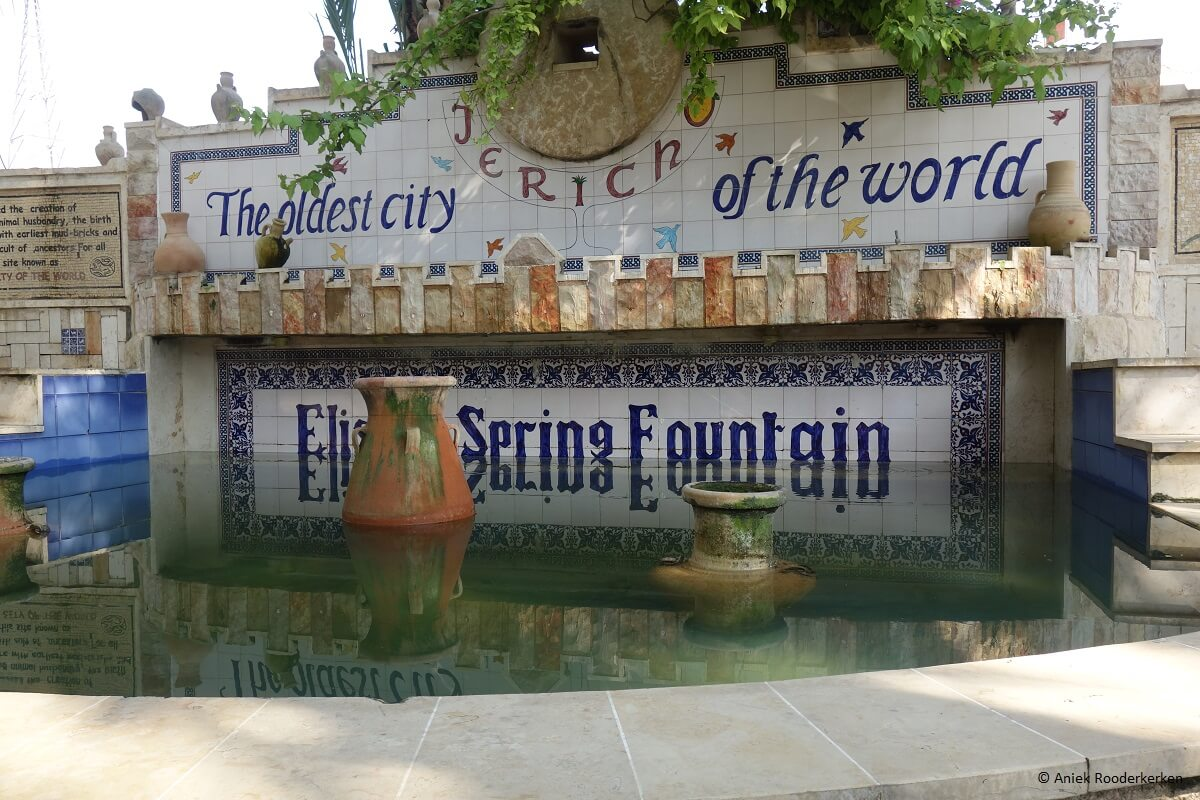 Elisha Spring Fountain in Jericho: the oldest city in the world
