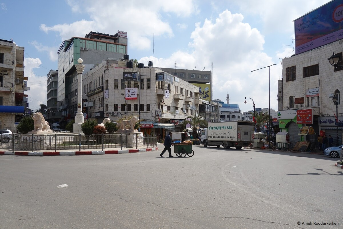 Ramallah in Palestine: The West Bank from Jerusalem