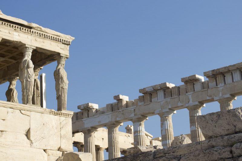 Je kan niet naar Athene gaan zonder de Akropolis te bezoeken
