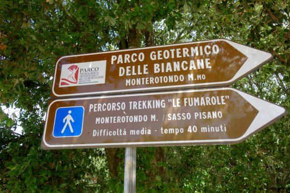 Percorso trekking Parco Naturalistico delle Biancane