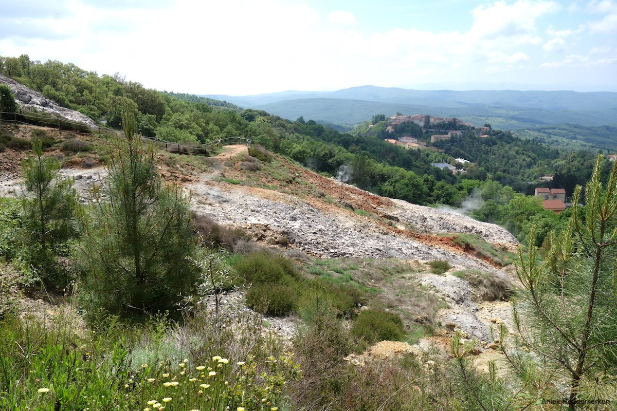 The view from Parco delle Biancane