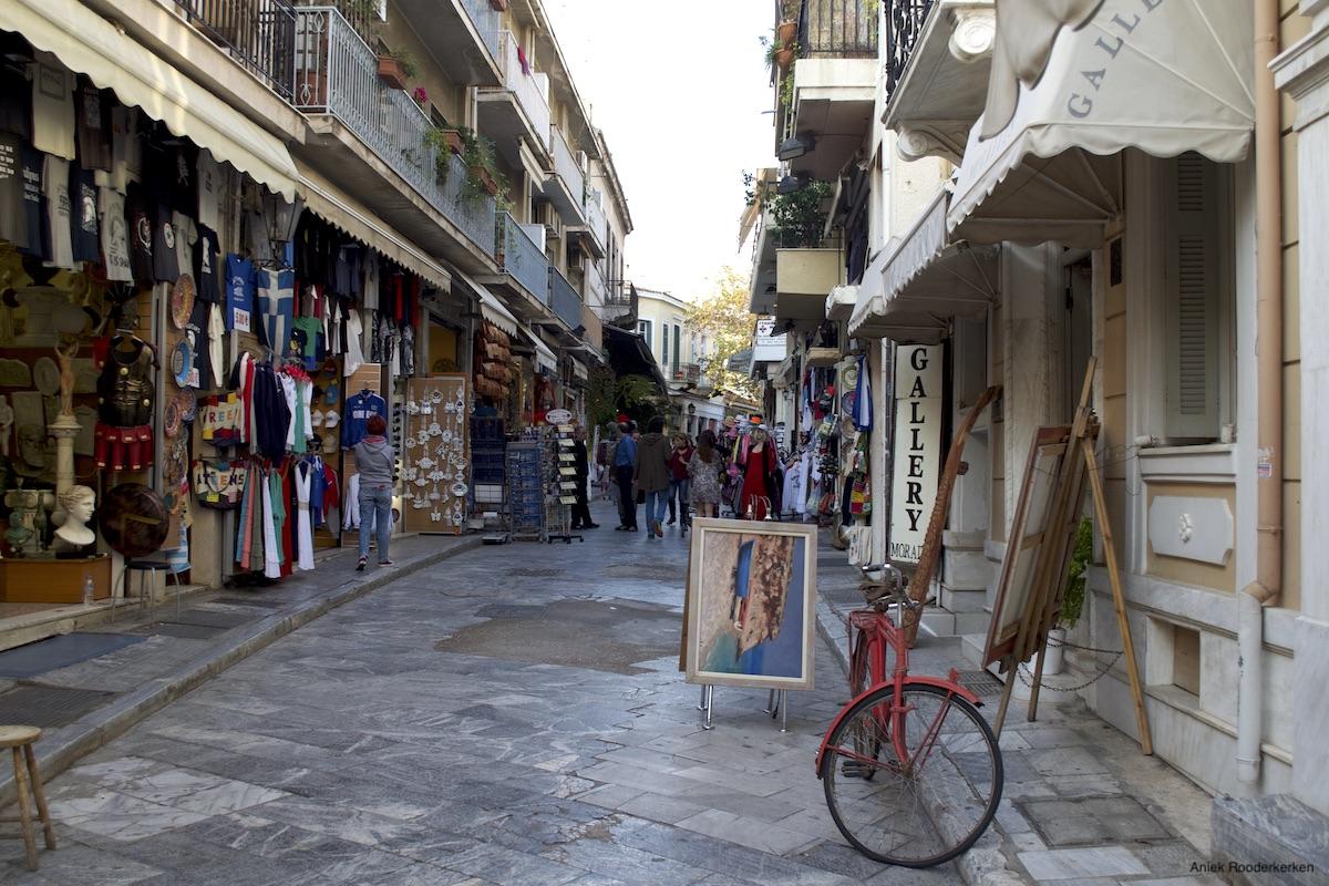 Wijken van Athene
