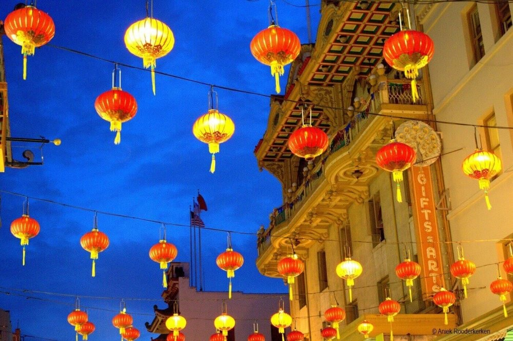 China Town, San Francisco, California