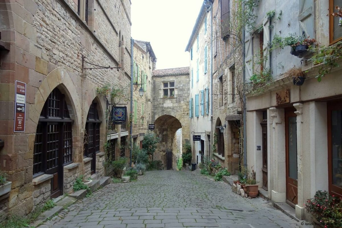 Cordes sur Ciel, one of the most beautiful places in the Tarn