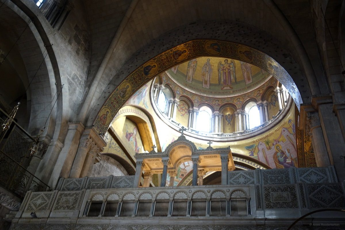 Holy Sepulcher in Jerusalem