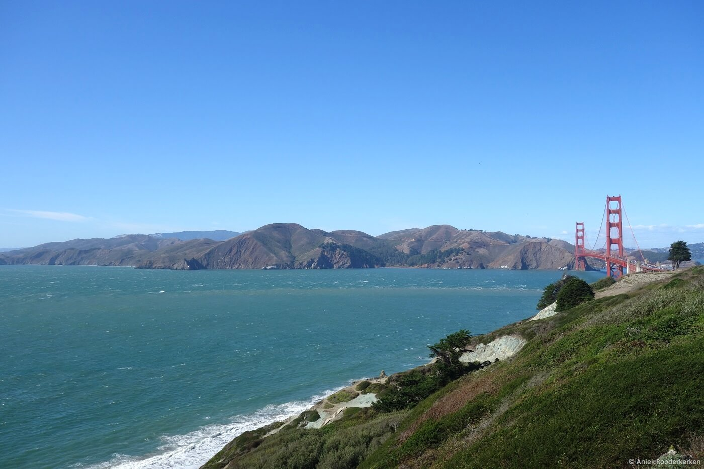 Lands End and Golden Gate Bridge, San Francisco‎
