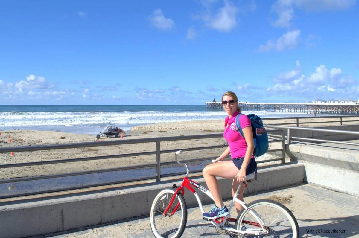 Cycling from San Diego to La Jolla