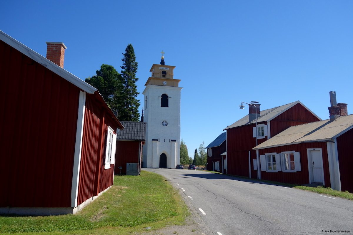 The church of Gammelstad in Swedish Lapland