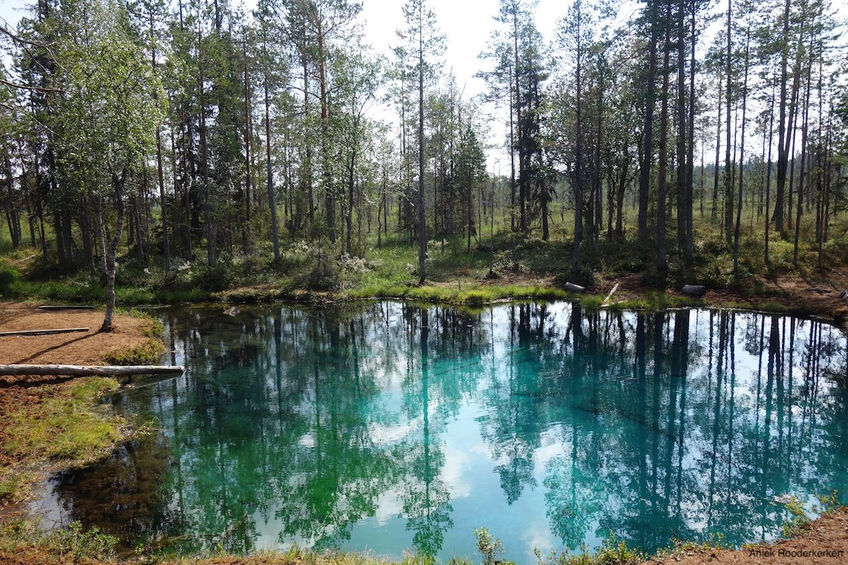 Grodkällan: the most beautiful lake in Sweden
