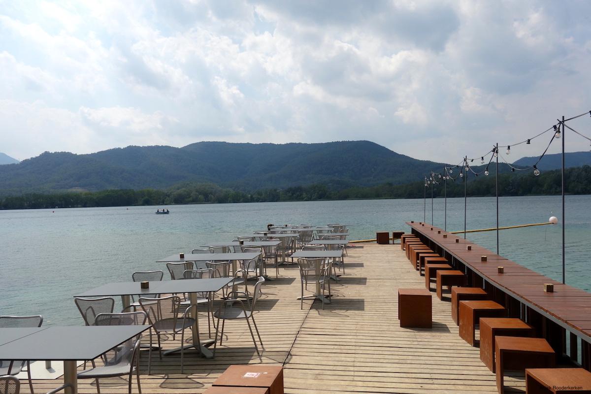 Estany de Banyoles at the Lake of Banyoles