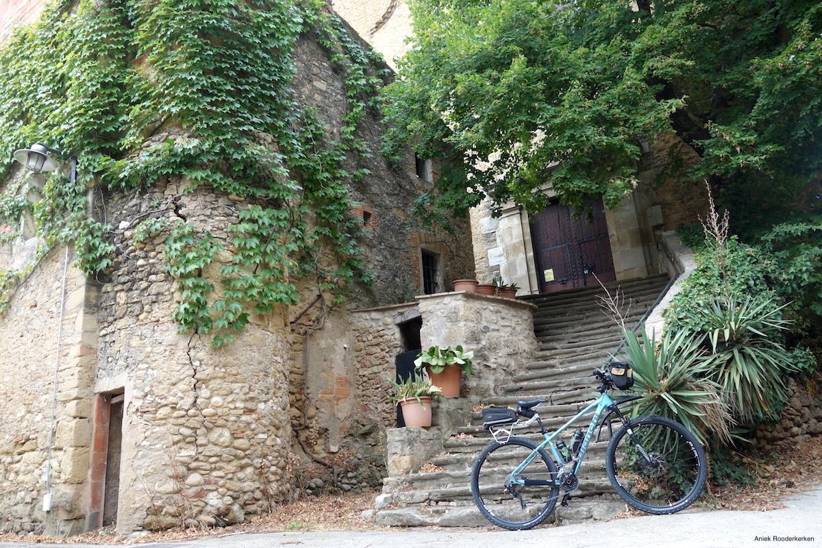 Cycling near Girona