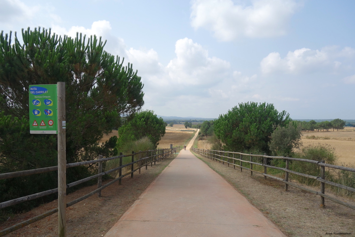Ruta del Carrilet in Catalonia