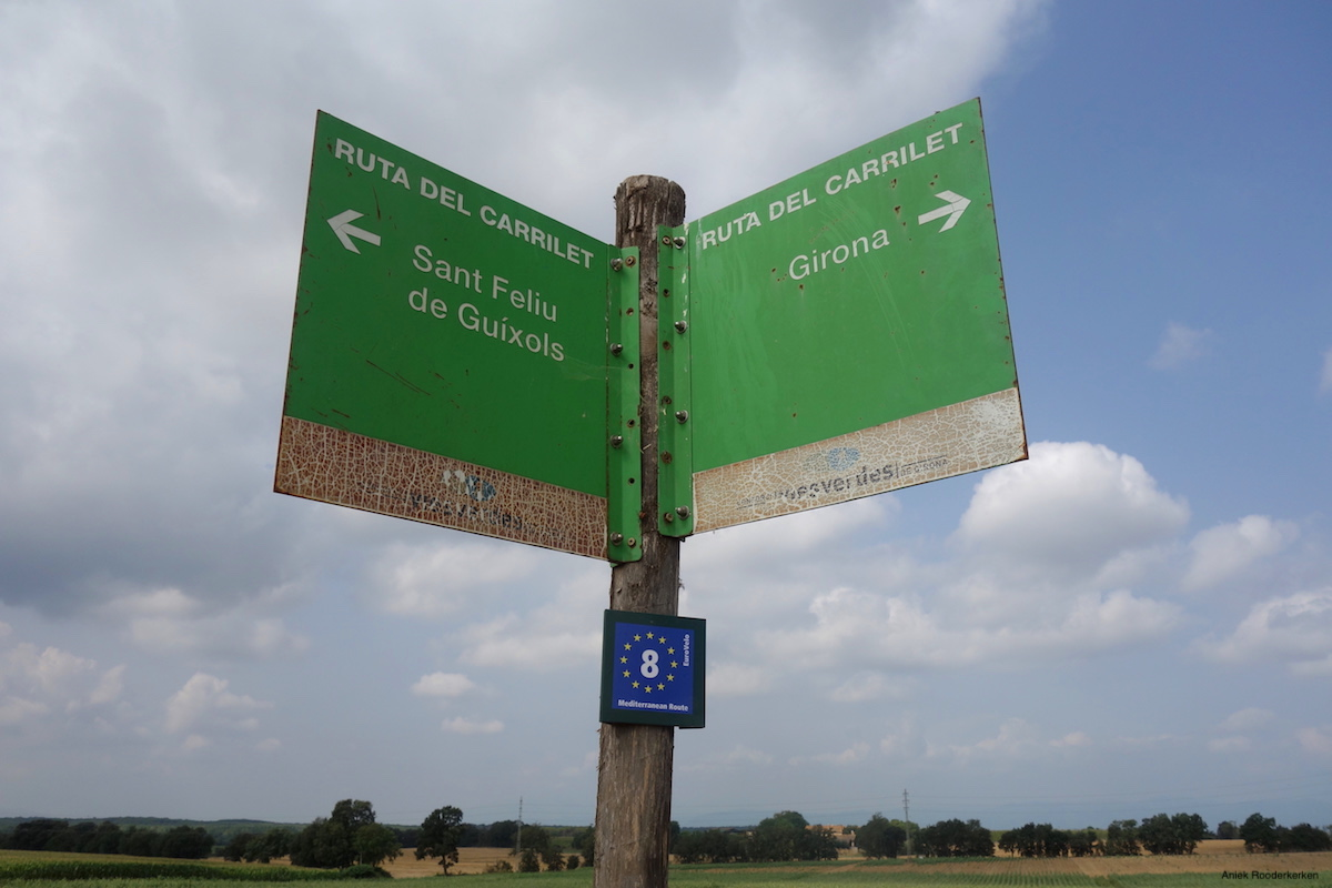 Roadsigns for the Ruta del Carrilet