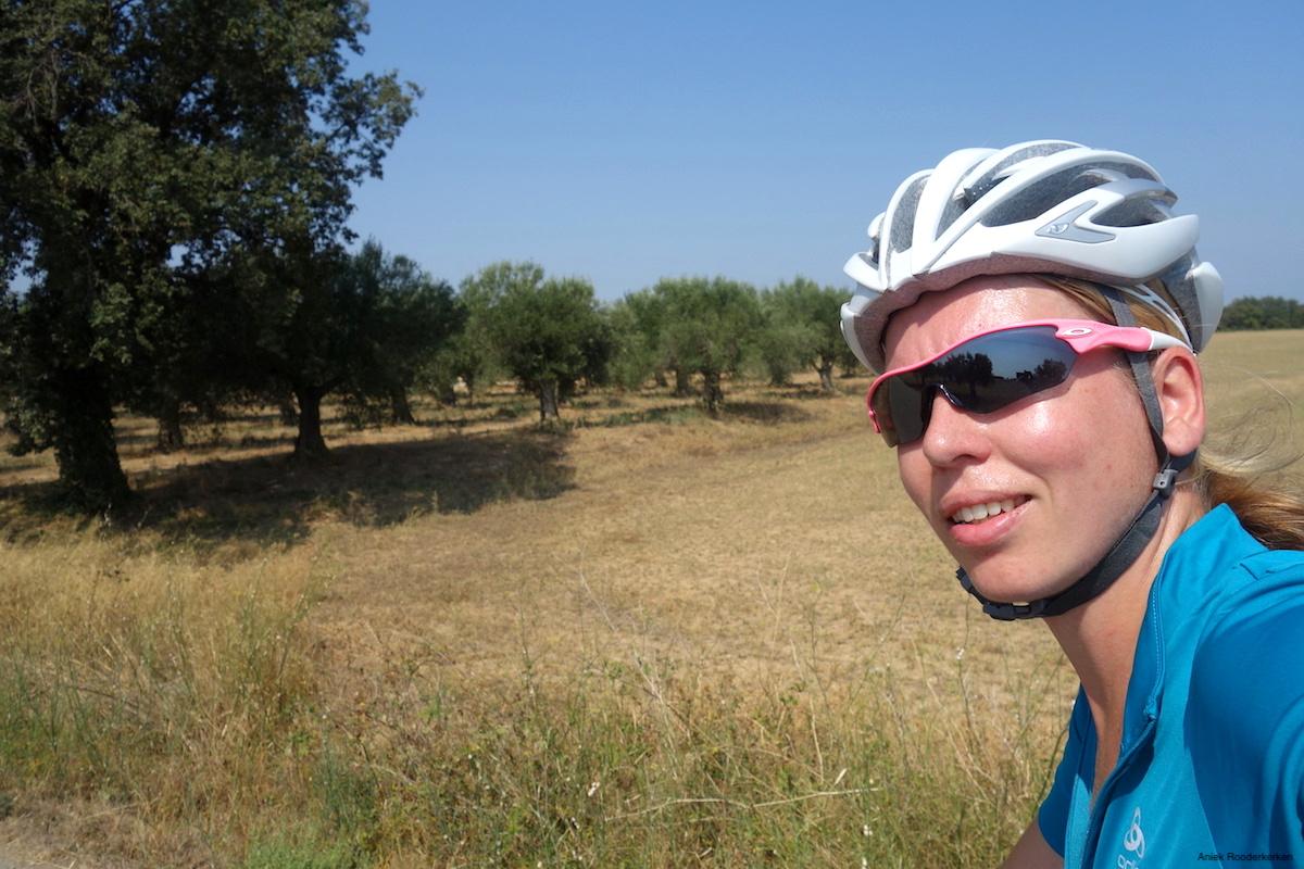 Cycling in Girona, Spain
