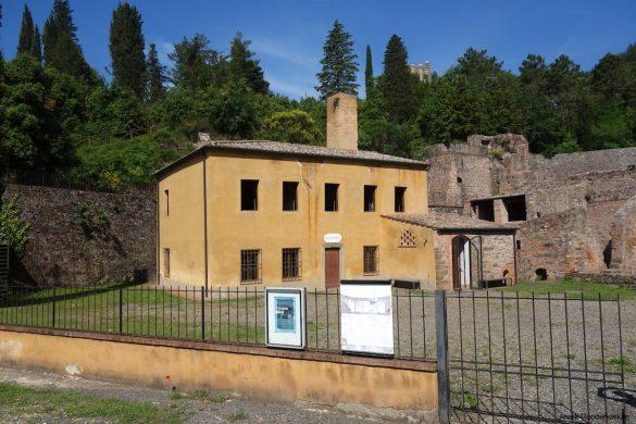 A copper mine in Montecatini Val di Cecina, Tuscany