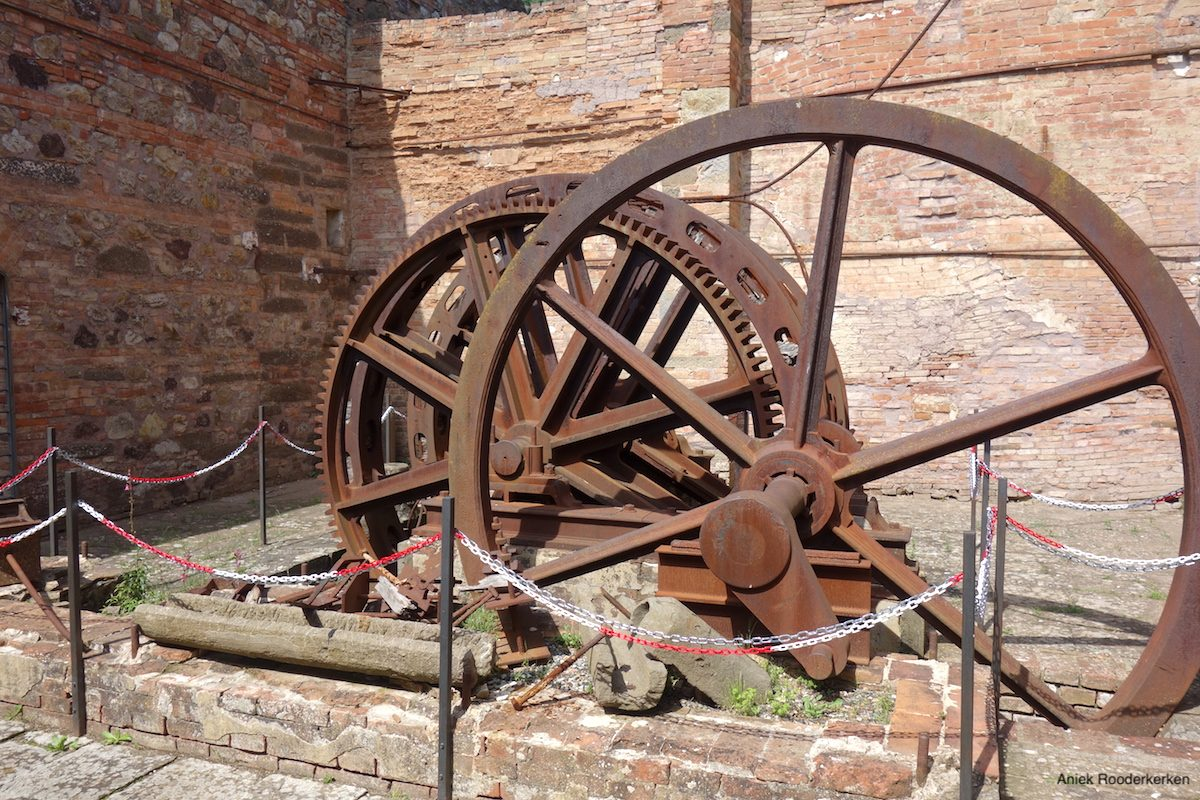 Copper mines in Tuscany
