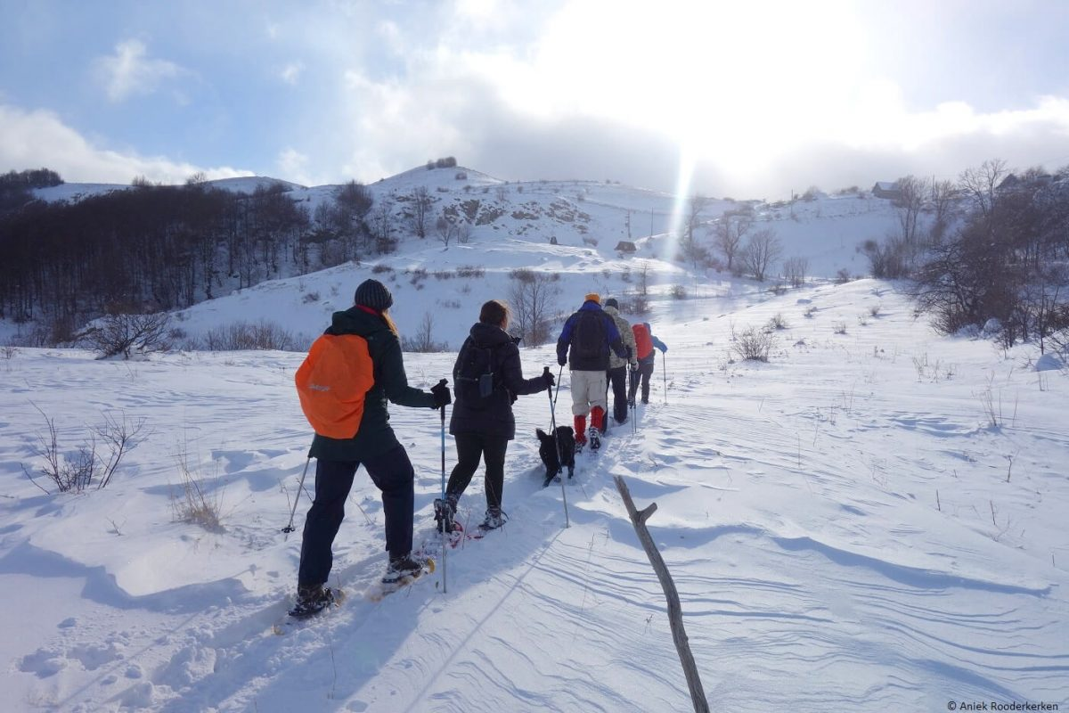 Snowshoeing in Bosnia and Herzegovina