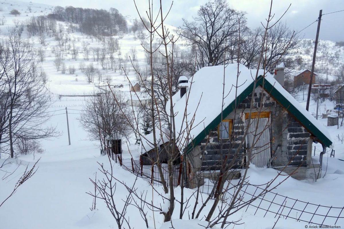 Bosnian stone house in Umoljani