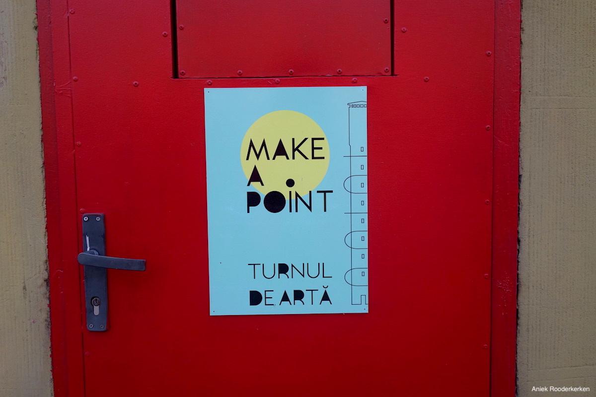 Make a point, Pantelimon water tower