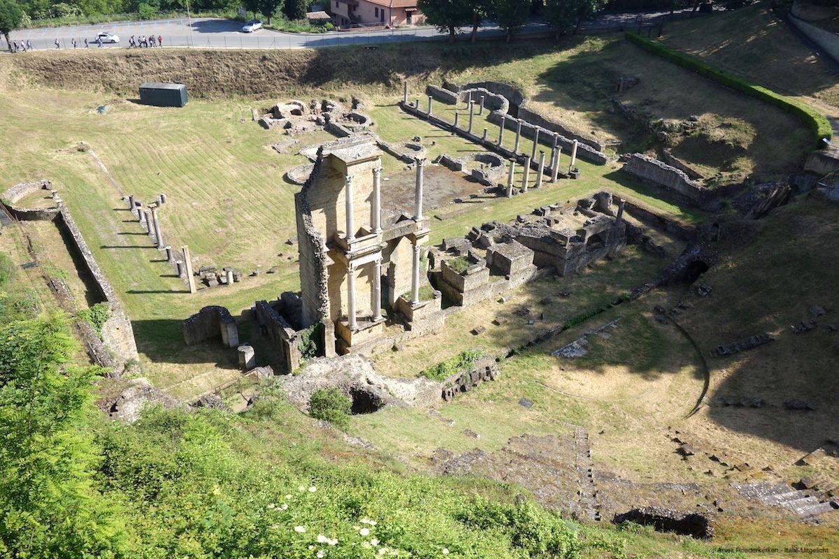 Roman theater Volterra