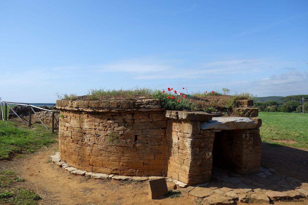 Etruscan necropolis of San Cerbone in Populonia