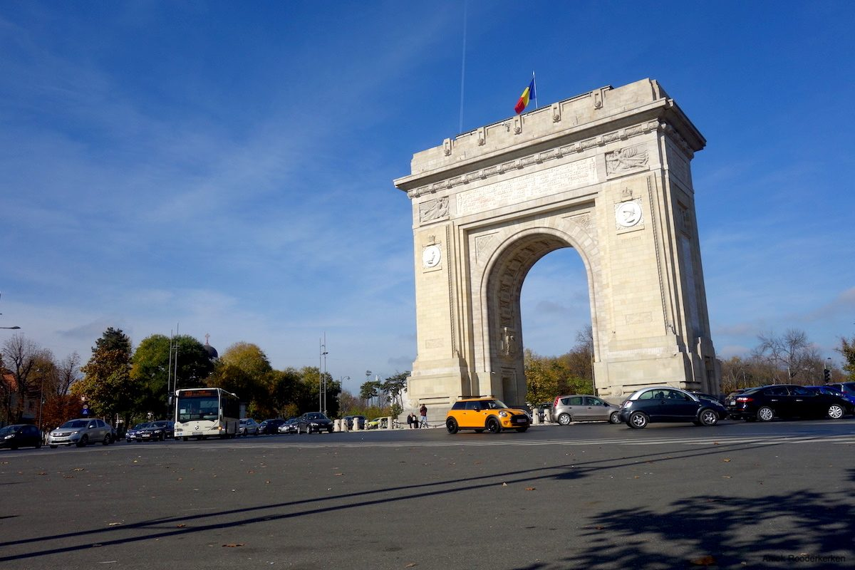 Bucharest Arcul de Triumf
