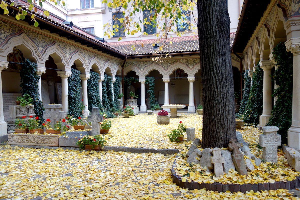 Stavropoleos Monastery (Mănăstirea Stavropoleos)