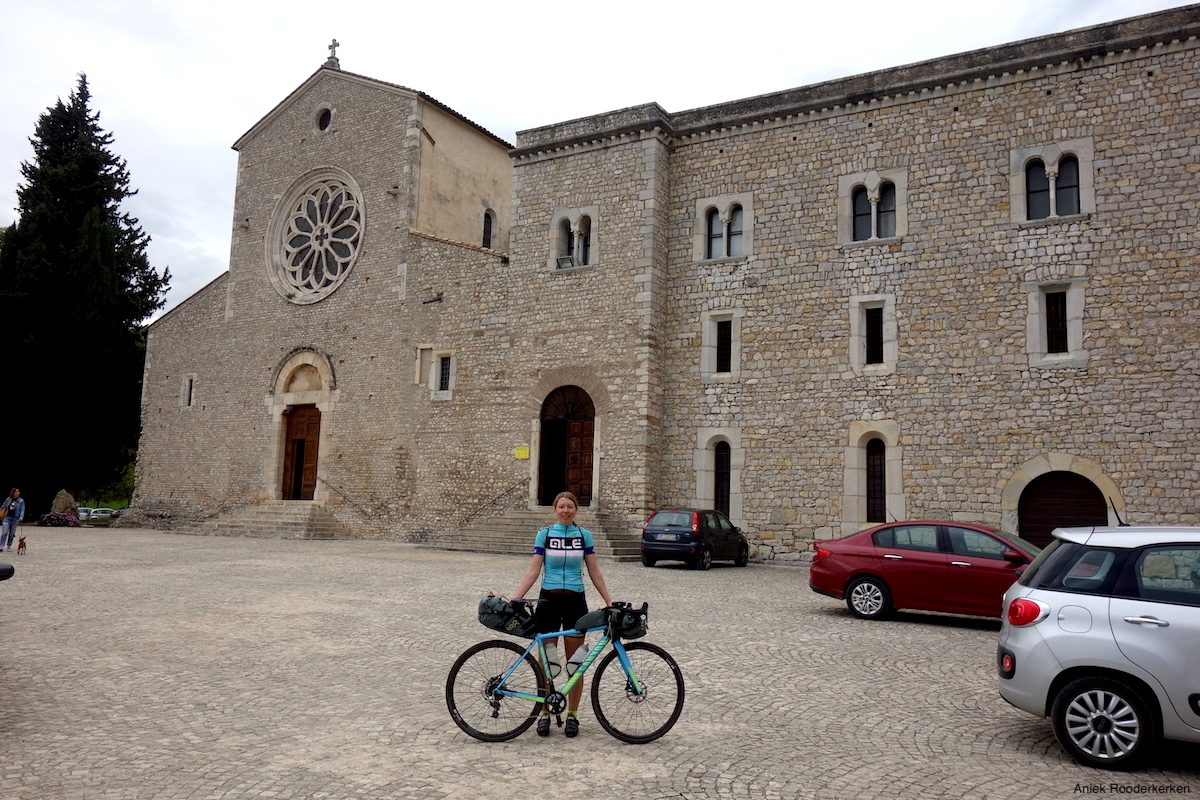 Spending the night at the Abbazia di Valvisciolo