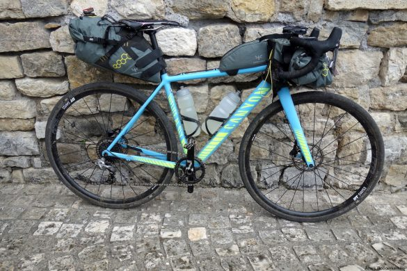 Bikepacking setup Italy Divide