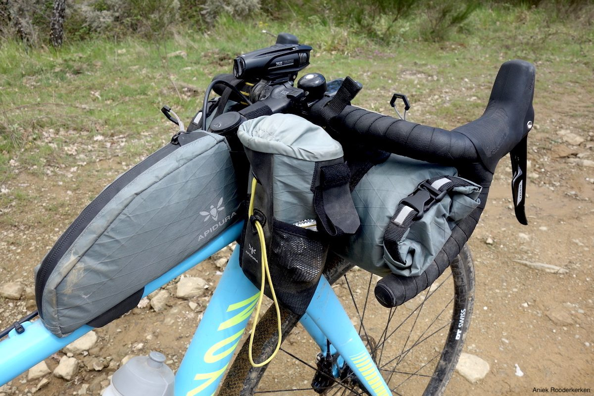 Packing list Italy Divide: Bikepacking setup with Apidura bags