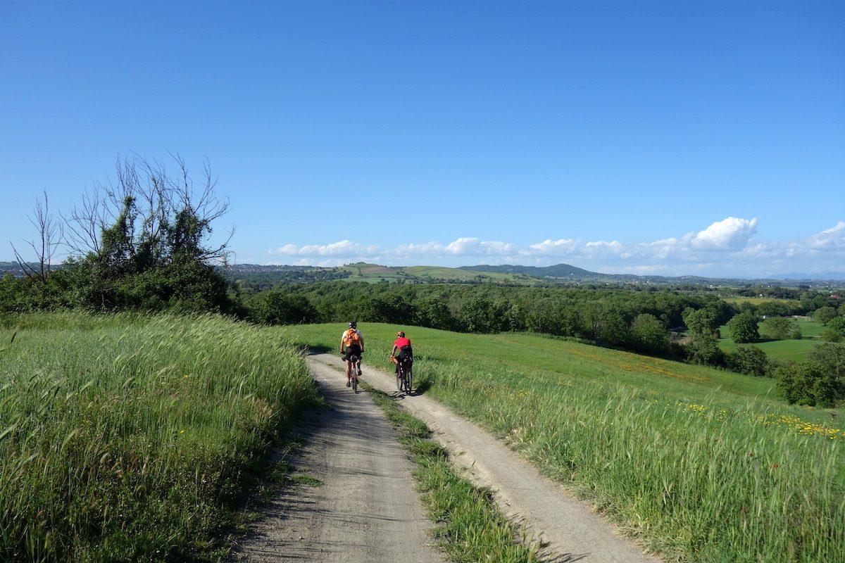 Rolling roads in Lazio