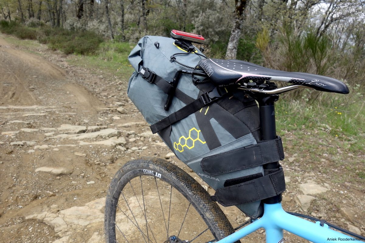 Apidura bags and Canyon Inflite bicycle