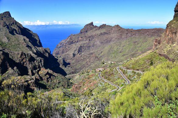 Het vulkanische landschap van Tenerife