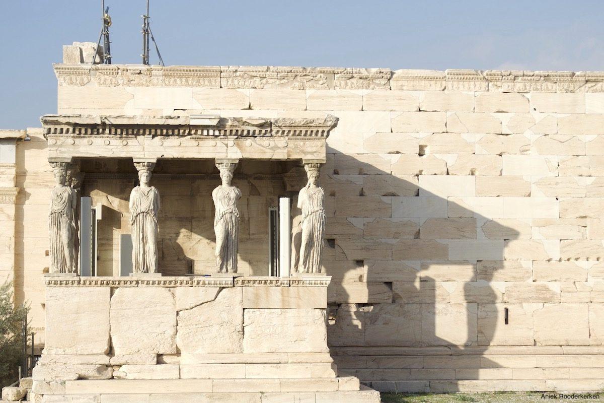 Erechtheion op de Akropolis