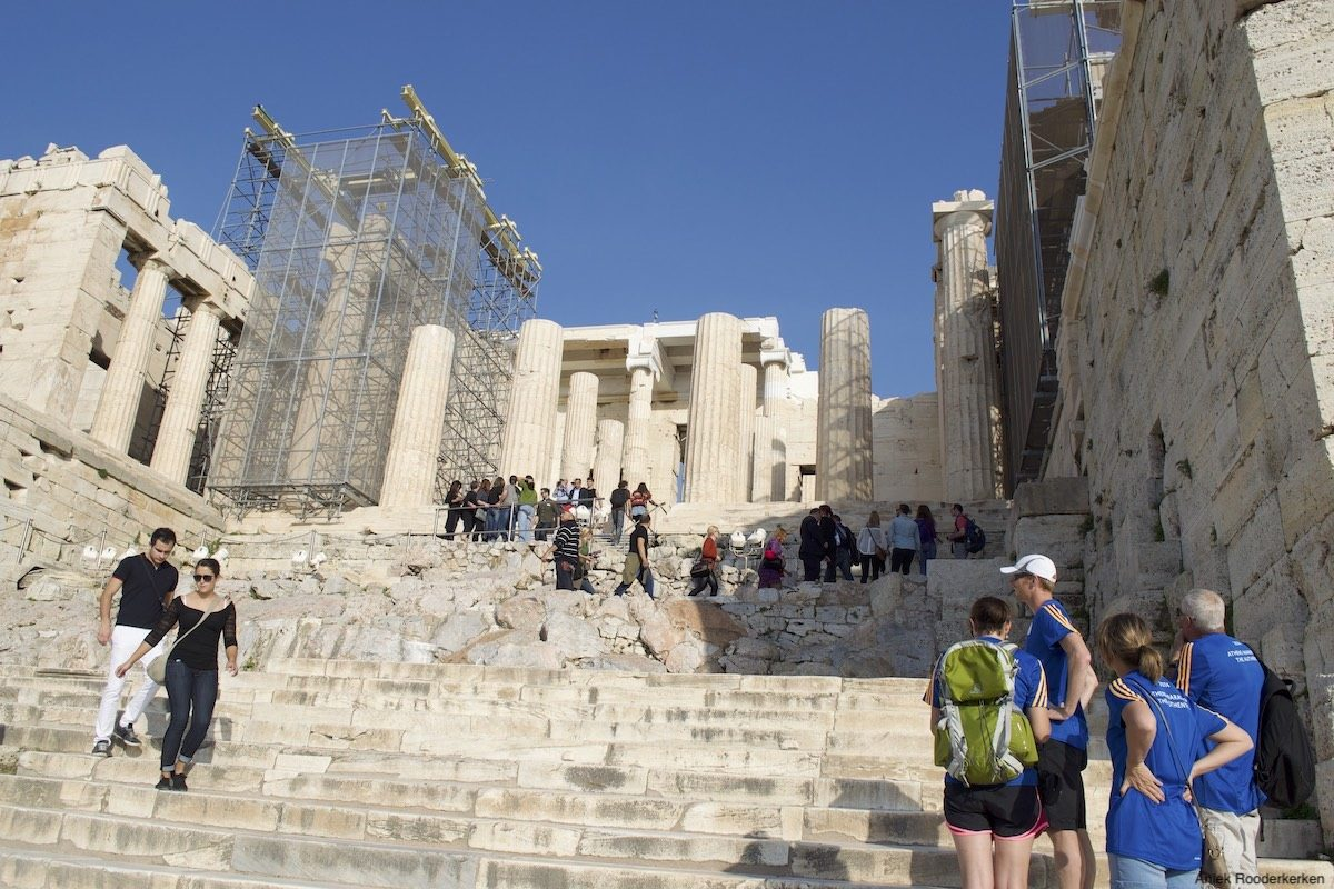 Propylaea, toegangspoort tot de Akropolis
