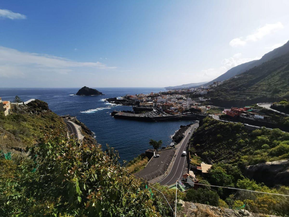 Tenerife: schitterend uitzicht over zee